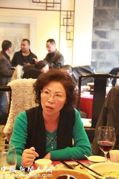 """很久以前就被誉为""""陕西报业才女第一人""""之称的媒体前辈袁秋乡"""