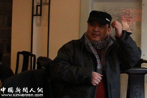 杂文家、陕西省杂文学会副会长陈仓