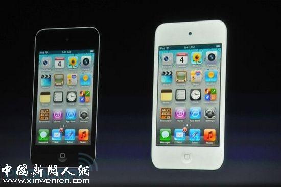苹果正式发布iphone 4s手机,分黑白两款