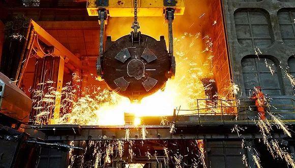 中国宝武钢铁粗钢产量跃居世界第一